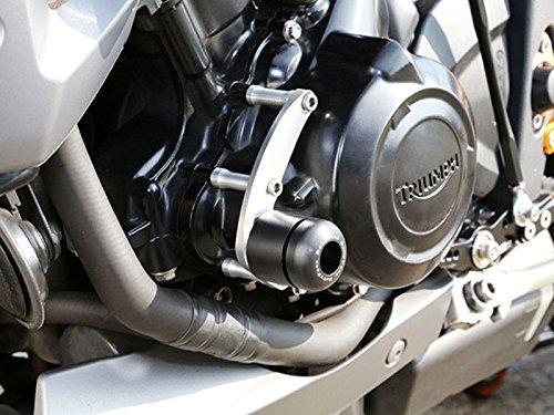 ベビーフェイス(BABY FACE) エンジンスライダー 左 ジュラコン樹脂 ブラック STREET TRIPLE 675  [ストリートトリプル](13-)006-ST010L 左側  B01C5NL6FM