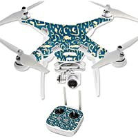 Skin For DJI Phantom 3 Professional – Deco Fish | MightySkins Protective, Durable, and Unique Vinyl Decal wrap cover | Easy To Apply, Remove, and Change Styles | Made in the USA