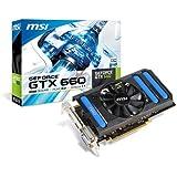MSI NVIDIA GeForce GTX660 Grafikkarte (PCI-e, 2GB, GDDR5 Speicher, HDMI, DVI-I, DisplayPort)