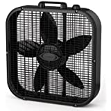 1 - 20in Box Fan 3spd Black by Lasko