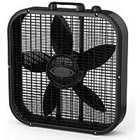 1 - 20in Box Fan 3spd Black by Lasko