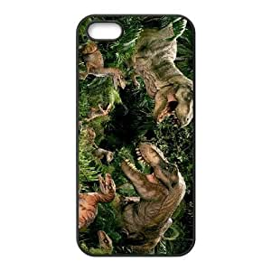 iPhone 5 5s Cell Phone Case Black Jurassic Park Protective Hard Phone Case Cover CZOIEQWMXN8864