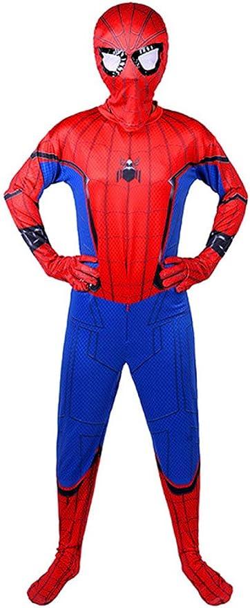 Traje de Superhéroe Spiderman niño cosplay traje homecoming Lujo ...