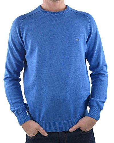 Fynch Hatton Pullover mit Rundhals 1116-200 (XXL, Blau)