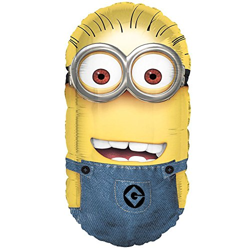 Despicable Me 2 Minion 26 Foil Balloon - Pack of -
