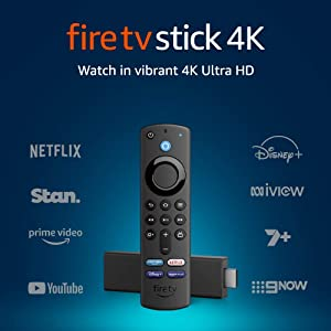 All-new Fire TV Stick 4K | Alexa Voice Remote with TV Controls | Dolby Vision | 2021 release