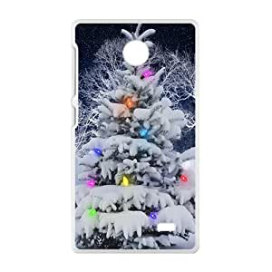 Christmas Tree Snow Phone Case for Nokia Lumia X