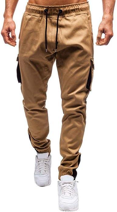 Pantalones Hombre Pantalón Casual Hombre Pantalones Tipo Cargo de ...
