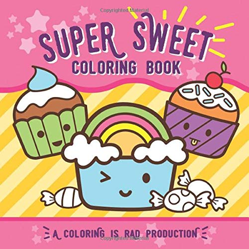 Super Sweet Coloring Book kids product image