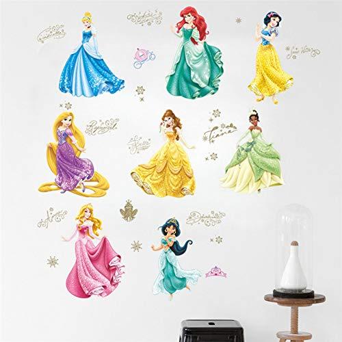 - Leguliya DIY Princess Dancing Castle Wall Stickers for Kids Room Living Rooms Bedroom Window Height Measure Wall Decals Birthday Gift