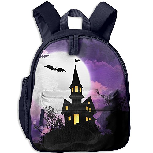 Sound Of Music Costume Design (Spooky Halloween Girls Boys Children's Backpack School Rucksack School Bag Print Backpack)