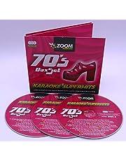 Zoom Karaoke CD+G - 70s Seventies Superhits - Triple CD+G Karaoke Pack [Box set, Import]