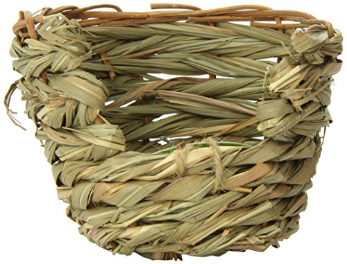 (Ware Manufacturing Natural Willow and Grass Pet Hut for Small Pets, Small)