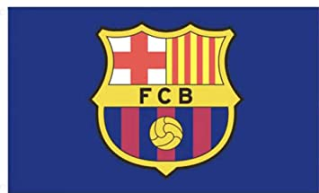 c04cd78fae1e7 F.C. Barcelona Bandera CC Producto con Licencia Oficial  Amazon.es   Deportes y aire libre