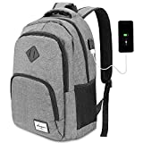 Charging Backpack,Laptop Backpack,School Backpack with USB Charging Port 15.6 Inch Laptop Compartment 35L Unisex for Women Men by AUGUR