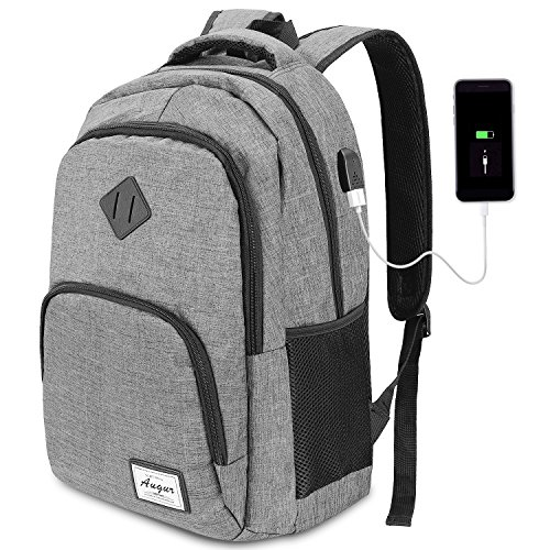 Augur Business Backpack,Water Resistant Laptop Backpack with USB Charging...