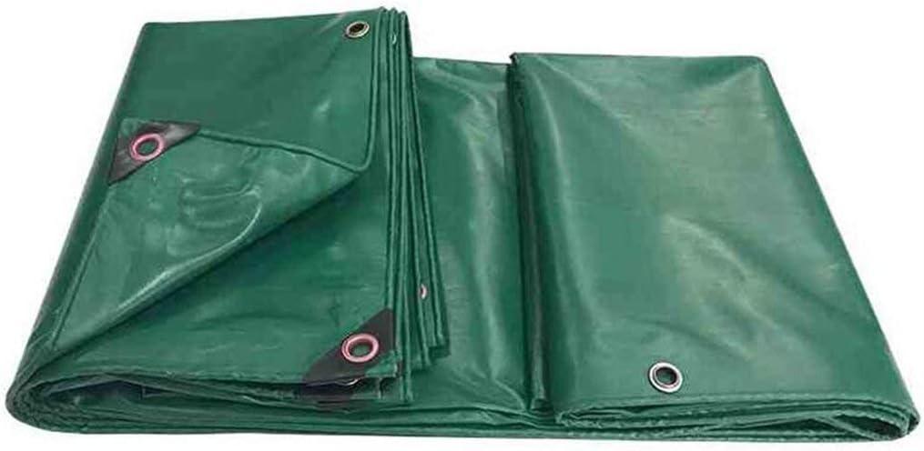 Wangcfsb Aislamiento Impermeable a Prueba de Polvo del PVC del ejército de la Lona for la Tienda Que acampa, Hamaca, Piscina, jardín, Coche, Motocicleta, Barco (Size : 5x6M)