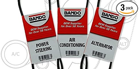 4PK1050 A//C Air Conditioning Fan Serpentine Belt Replacement