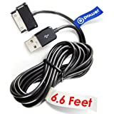 T-Power 30-pin ( 6.6 ft Long Cable ) for Samsung Galaxy Tab NOTE GT / Galaxy Note Tab 2 7.0 / 2 10.1 / 7.0 Plus /8.9 / 10.1 Replacement Spare Power Cord Charging Sync Data Cable