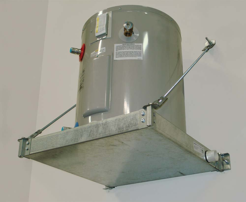 Holdrite 40-SWHP-W QuickStand Water Heater Platform, 21-1/4-Inch by 21-1/4-Inch, Silver by Holdrite