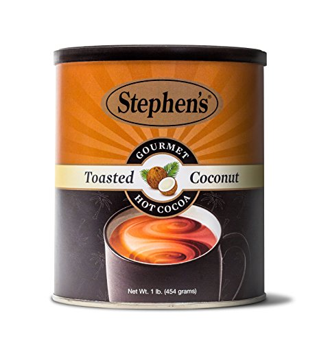 Stephen's Gourmet Toasted Coconut Hot Cocoa, 1 Pound