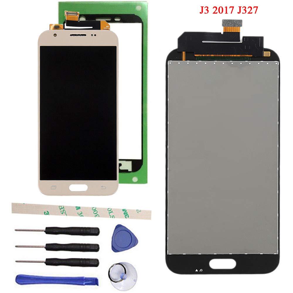 100% Tested LCD Display Touch Screen Digitizer Assembly for Galaxy J3 2017  Prime SM-J327 J327R4 J327T J327T1 J3 Amp Prime 2 SM-J327AZ J3 Emerge J327A