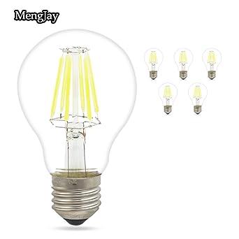 mengjay® 5 piezas 6 W A60 E27 220 V LED bombillas de ...