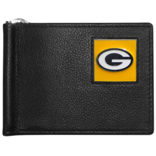 NFL Green Bay Packers Leather Bill Clip Wallet