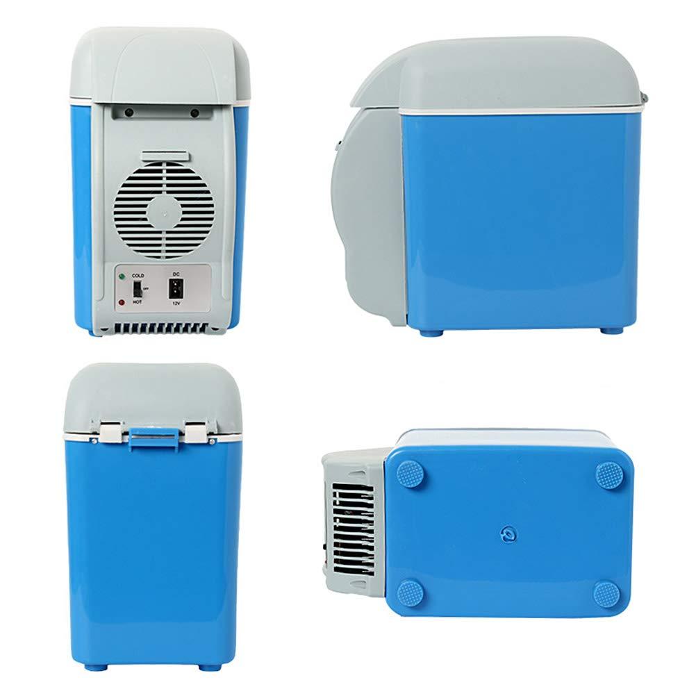Bozaap per Auto Barca Picnic Viaggi 12 V Ufficio Campeggio Mini frigo termoelettrico Portatile da 7,5 l
