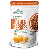 Golden Berries – All Natural Fresh Incan, Gooseberries Raw, Vegan, Gluten Free, Paleo Dried Super Fruit, Smart Protein Fiber Organic 8oz by Alovitox Review