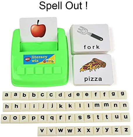 BOHS Literacy Wiz -Lower Case Sight Words - 60 Flash Cards - Preschool Language Learning Educational Fun Game Toys
