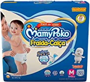 Fralda-Calça MamyPoko Tamanho M, Pacote com 62 unidades