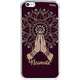 Capa Personalizada para iPhone 6 | 6S - Namastê Mandala - Husky