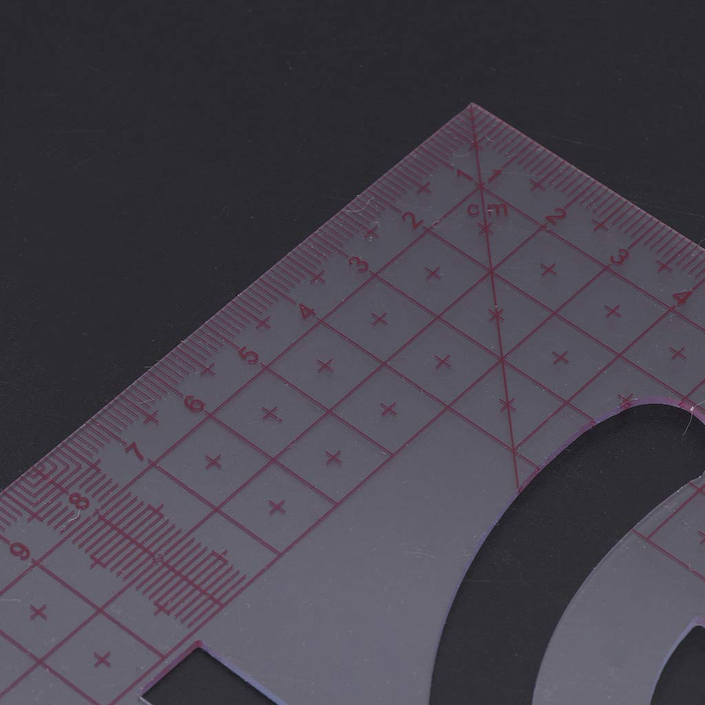 Mesure De R/ègle De Couture Multifonction Pour La Confection De V/êtements En Plastique /à Outils De Bricolage