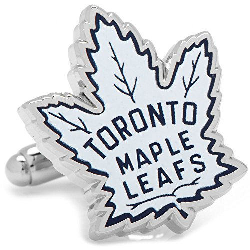Toronto Maple Leafs Cufflinks - Cufflinks NHL Vintage Toronto Maple Leafs, Officially Licensed