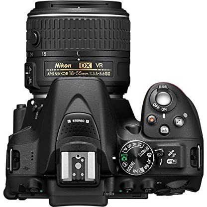 Nikon D5300 24.2MP Digital SLR Camera(Black) with AF-P 18-55 and AF-P DX NIKKOR 70-300mm f/4.5-6.3G VR Kit, Free Camera… 6