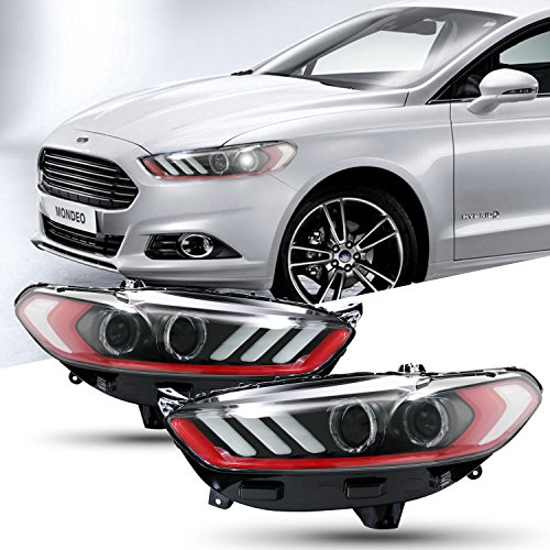 Mustang Aftermarket Headlights - 8