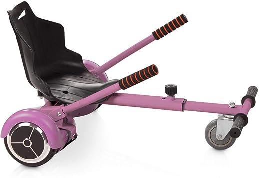 OVIBOARD Asiento Hoverboard, Kart para Patinete (Rosa): Amazon.es: Deportes y aire libre