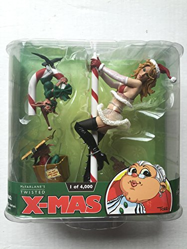 McFarlane Toys Twisted Christmas Exclusive Action Figure Mrs. Claus Blonde Ha... - Exclusive Mcfarlane Toy