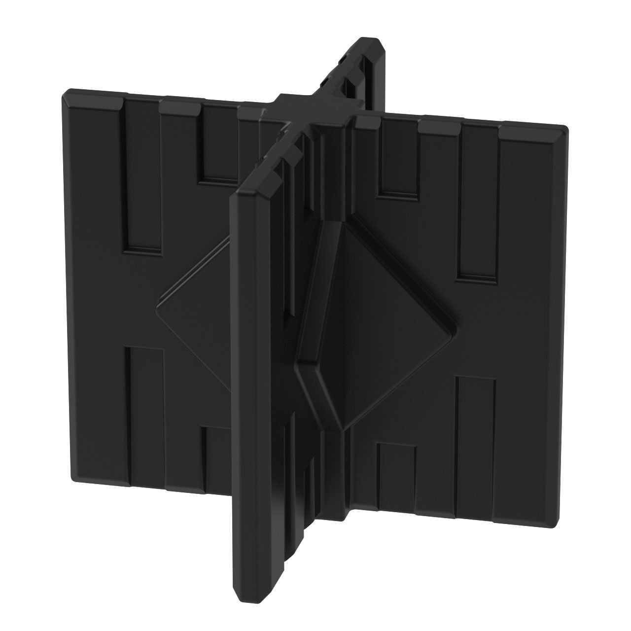 GOGO Panels - CX1B - Black Middle/Foot 4-Way Connector