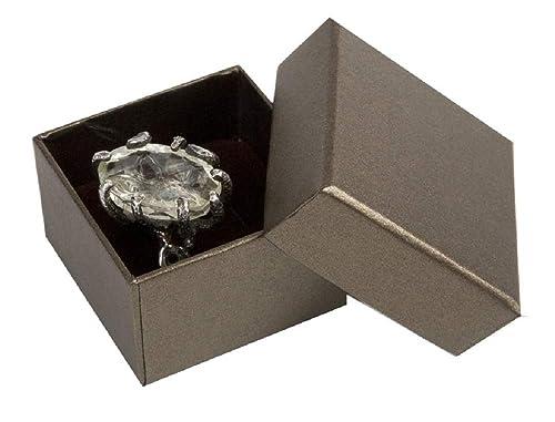 Boxpack 24 Cajas Estuches de cartón para Anillo 51x51x35 mm ...