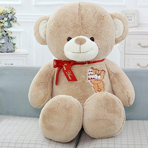 Stuffed Animal Teddy Bear Plush Soft Toy 80CM Huge Soft Toy Purple - 6
