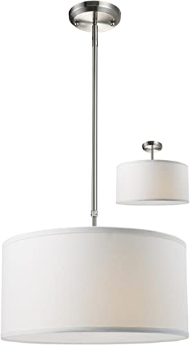 Z-Lite 171-16W-C Albion Three Light Pendant