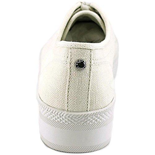 36d49a67ba1 Michael Michael Kors Boerum Platform Canvas Chalk Sneaker (9)  Amazon.ca   Shoes   Handbags