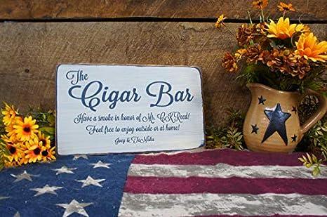 JeremyHar75 The Cigar Bar - Cartel de Boda de Estilo rústico ...
