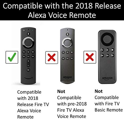 Made for Amazon Case for All-new Alexa Voice Remote with energy and quantity controls - Irish Green