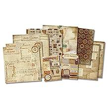 "Karen Foster 20519 Honoring The Past Scrapbook Page Kit 12""X12""-"