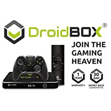 DroidBOX™ T8-S Plus V2 Gamers Edition Android 6.0.1 Powered Mini Computer SPMC/DBMC TV BOX and LibreELEC 17 Amlogic S905 2GB RAM 32GB ROM 4K UltraHD [W.GE]