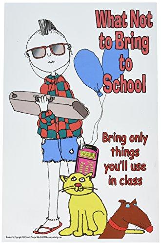 Poster #56 Student Behavior, Discipline Poster: Bring to School Series