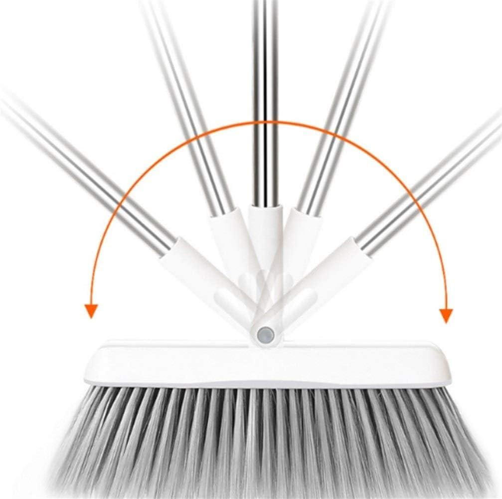 Mrjg Ramasse 1 pcs Balai Permanent Pliable Set Rotatif Balai Head Salle de Bain Nettoyage Outils de Cheveux Salon Fournitures poussi/ère Brosse Color : 1
